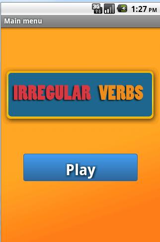 Verbos Irregulares del Inglés