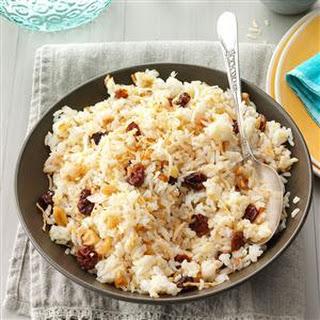 Jasmine Rice with Coconut & Cherries Recipe