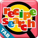 Recipe Search for Android Tab lifestyle apps