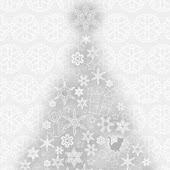 Christmas silver Cute snow
