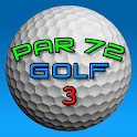 Par 72 Golf logo