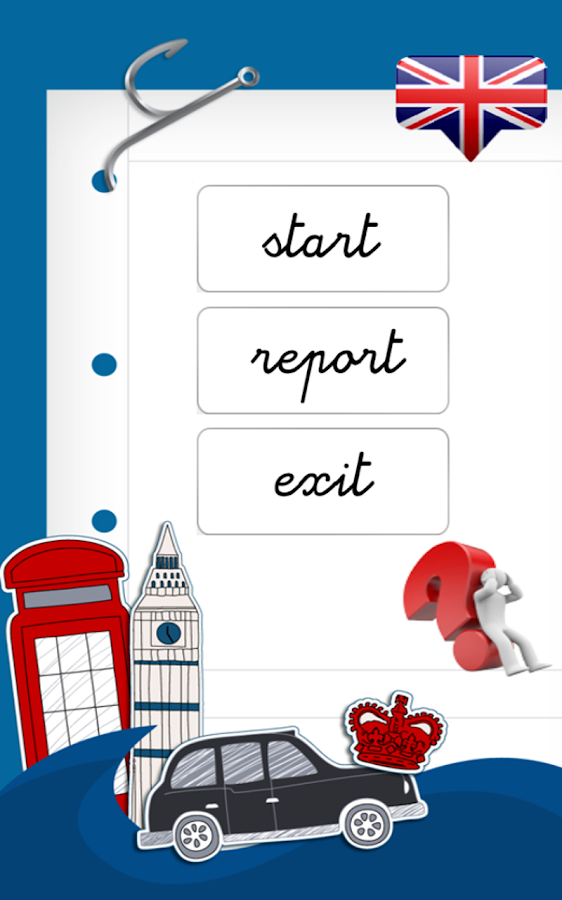 Learn ENGLISH with Words FREE - screenshot
