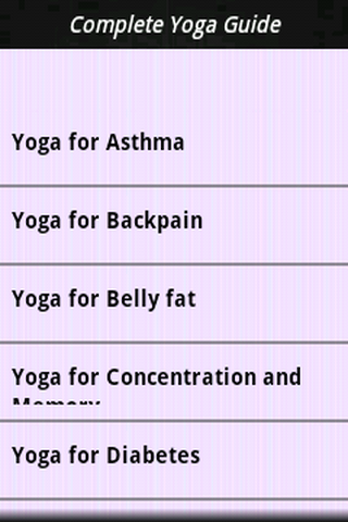 Complete Yoga Guide