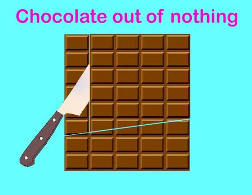 Puzzle Chocolate of nothing