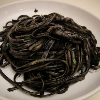 Linguine with Squid and Its Ink