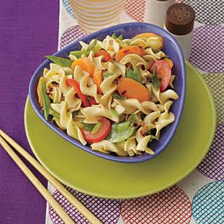 Stir-Fried Egg Noodles with Vegetables.