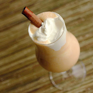 Spiced Pumpkin Eggnog.