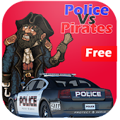 Police Vs Pirates : Car Game