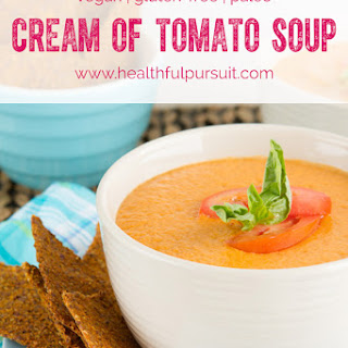 5-Minute Vegan Cream of Tomato Soup (Paleo, too!).