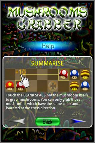 Mushrooms Grabber - screenshot