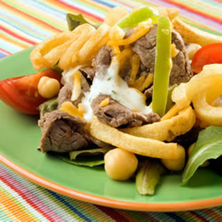 Philly Steak Salad.