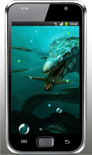 Seas Monsters live wallpaper