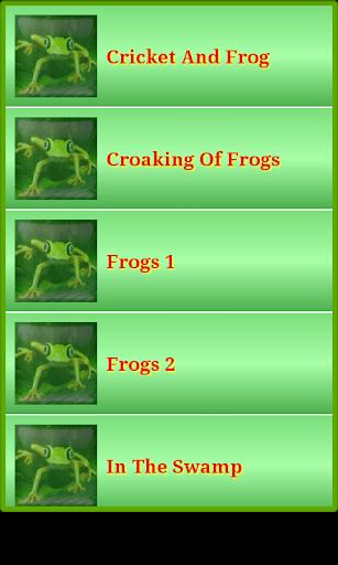 青蛙的聲音和鈴聲