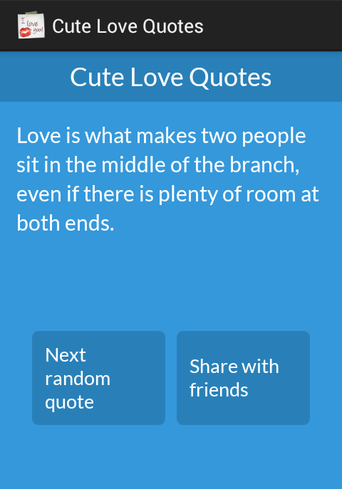 cute love quotes android apps on google play