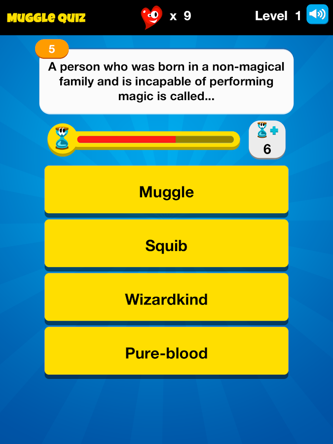 Muggle Quiz™ - HP Challenge - screenshot