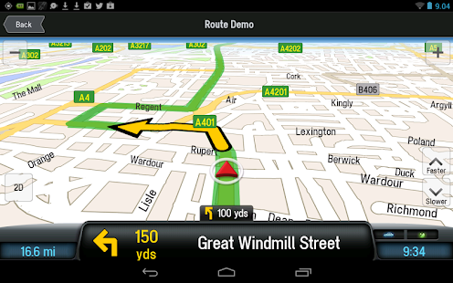 CoPilot Premium Europa GPS App - screenshot thumbnail