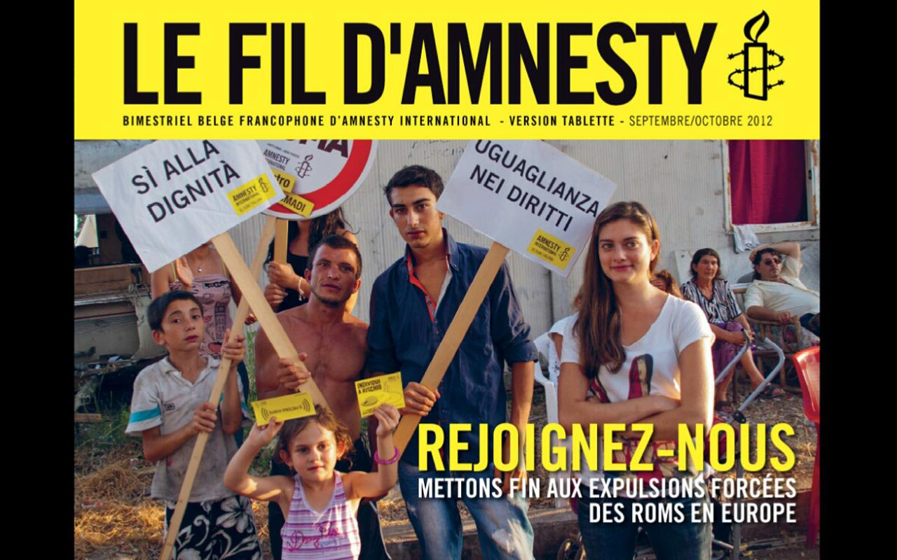 Le Fil d'Amnesty International- screenshot