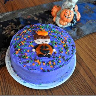 Spooky Vegan Carrot Cake