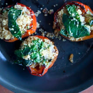 Shauna James Ahern's Quinoa-Stuffed Peppers.