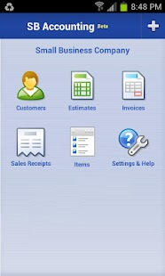 Small Business Accounting - screenshot thumbnail