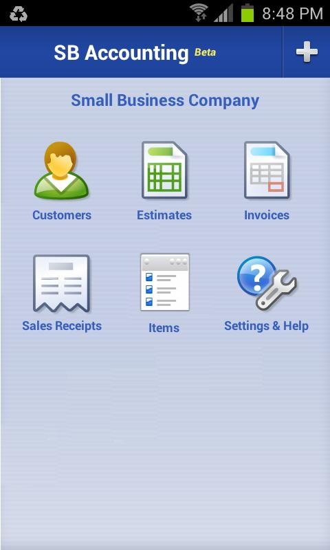 Small Business Accounting - screenshot