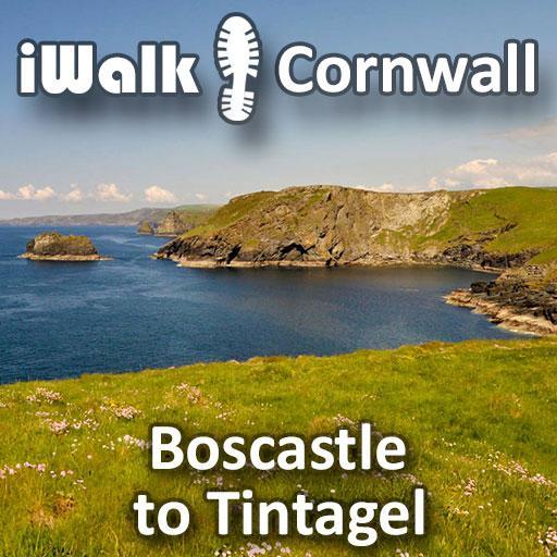 iWalk Boscastle to Tintagel LOGO-APP點子