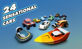 Screenshot of Groove Racer