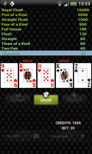 Petri's Video Poker Free