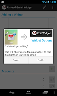 Unread Gmail Widget Demo - screenshot thumbnail