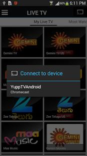 YuppTV - Indian Live TV Movies - screenshot thumbnail