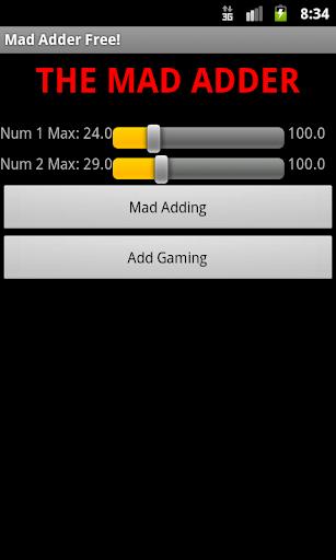 【免費教育App】The Mad Adder-APP點子