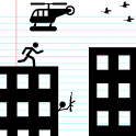 Stickman Rooftop Run icon