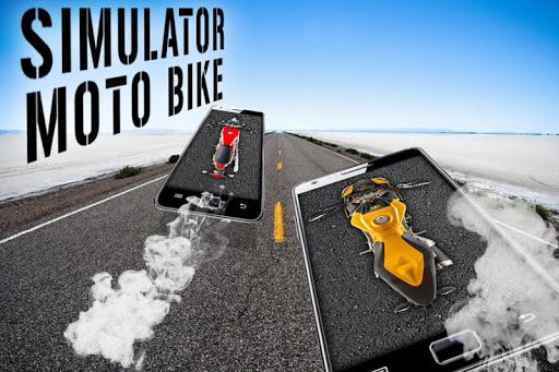 シミュレータモトバイク
