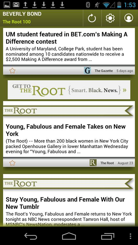 Beverly Bond: The Root 100 - screenshot