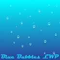 Simple Blue Bubbles LWP icon