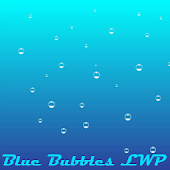Simple Blue Bubbles LWP