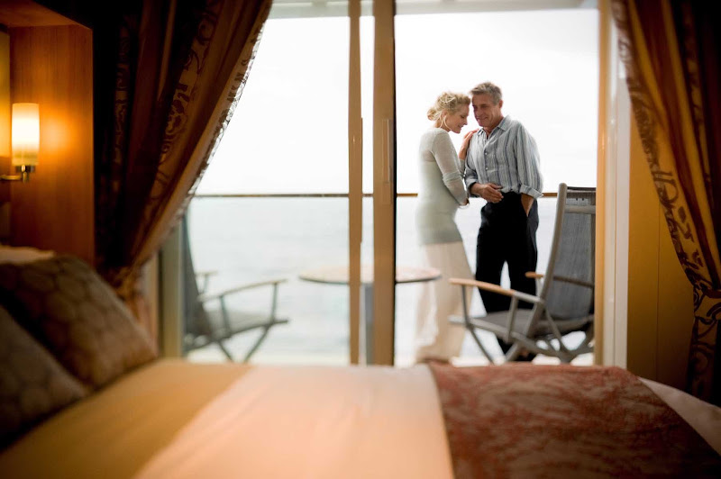 Spent quiet time with someone special on your own private balcony aboard Celebrity Solstice.