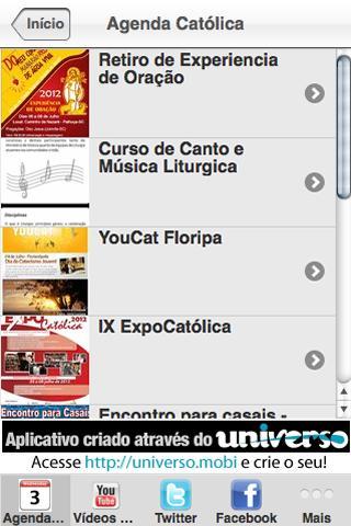 Super Eventos Católicos - screenshot