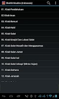 Screenshot of Hadist Shahih Muslim Indonesia
