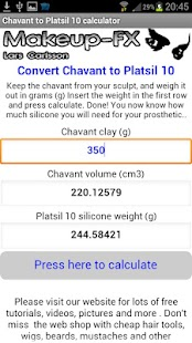 Chavant to Platsil 10 Silicone - screenshot thumbnail