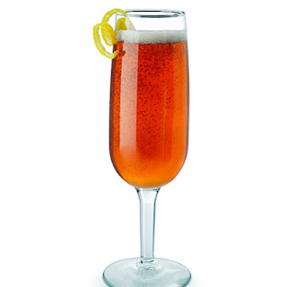 Wintersköl Champagne Cocktail with Truvía® Natural Sweetener