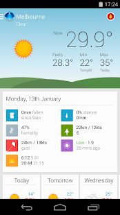 Pocket Weather Australia - screenshot thumbnail