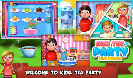 Kids Tea Party With Friends v2.1