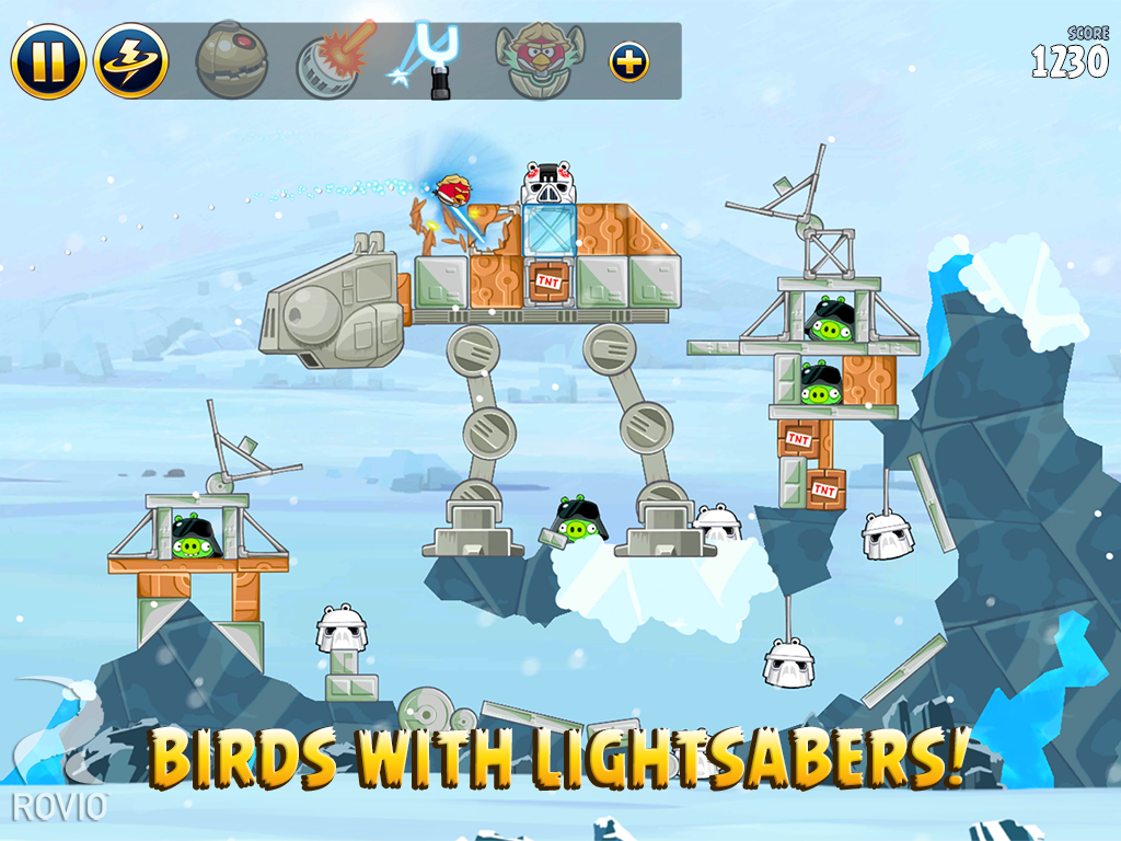 Angry Birds Star Wars HD screenshot #12