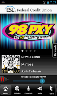98PXY WPXY-FM Rochester's Hits - screenshot thumbnail