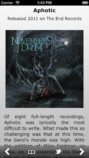 Novembers Doom : TWC