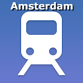 Amsterdam public transport map