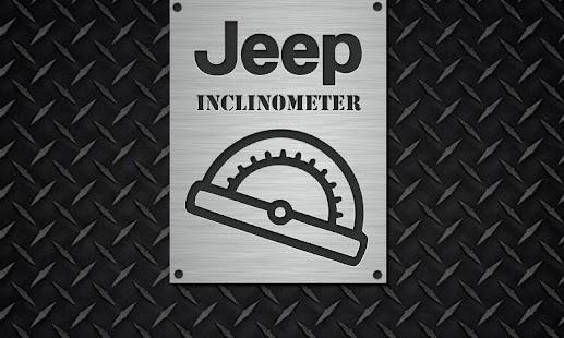 Jeep Inclinometer