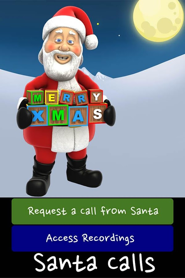 Santa Calls on Christmas- screenshot