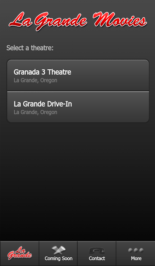 La Grande Movies- screenshot